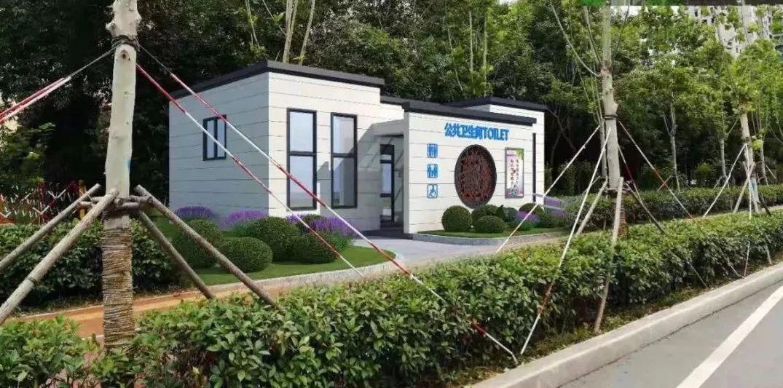 轻钢颠覆传统,装配式生态公厕带给人们满满的幸福感