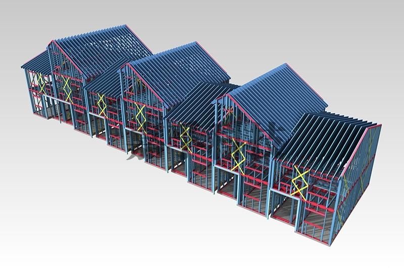 轻钢建筑有什么优势?